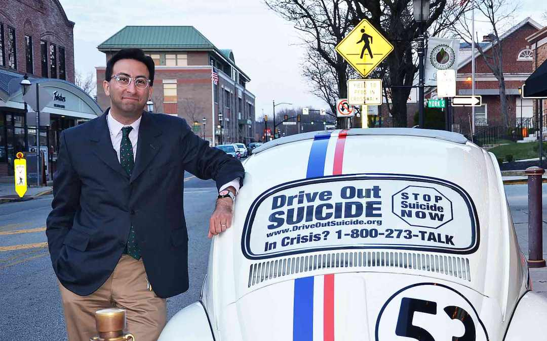 Herbie The Love Bug Suicide Awareness Film Road Trip with Gabriel Nathan