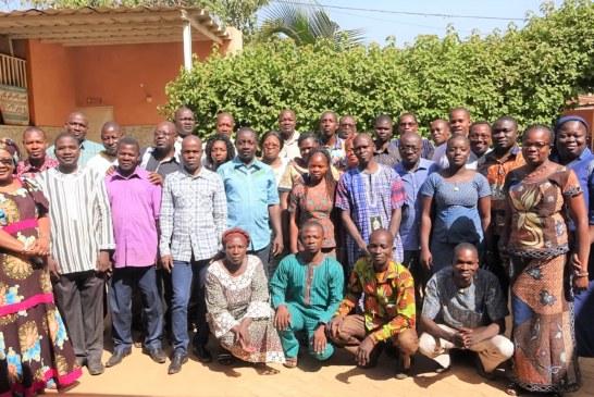 OCADES Caritas Burkina : un atelier d'appropriation et de recyclage des acteurs  sur les outils de gestion du projet EA 19-2019.