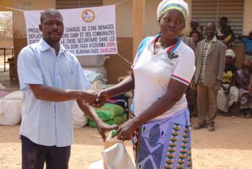 ASSISTANCE HUMANITAIRE AU BURKINA FASO : L'OCADES CARITAS BURKINA VIENT  EN AIDE AUX PERSONNES DEPLACEES INTERNES DE LA COMMUNE DE PISSILA DANS LA PROVINCE DU SANMATENGA