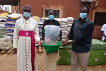 L'OCADES Caritas Burkina continue la bataille contre la COVID-19