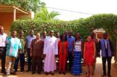 L'OCADES Caritas Burkina organise un atelier de lancement de l'élaboration d'une politique en matière d'eau hygiène assainissement