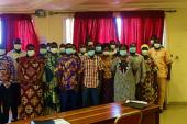Projet d'urgence pour l'amélioration de la Sécurité alimentaire et Nutritionnelle: les facilitateurs du développement de l'OCADES Caritas Burkina, mutualisent leurs expériences pour plus d'efficacité sur le terrain