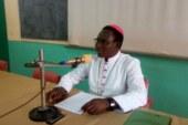 Présentation de vœux au Père Evêque de Koudougou