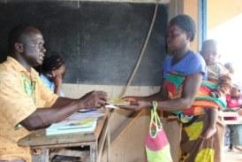 Projet appel d'urgence : première distribution de coupons pour les kits alimentaires à Kindi