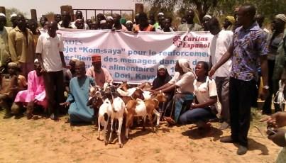 Dotation de chèvres 1
