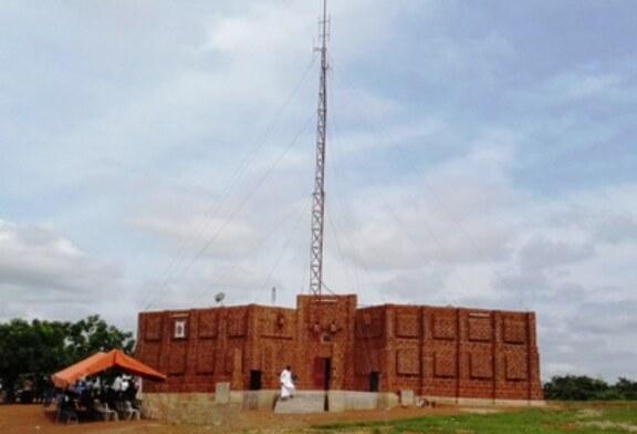 INAUGURATION / BENEDICTION DE RADIO UNITAS A DIEBOUGOU