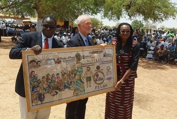Santé communautaire : L'ONG Catholic Relief Service offre des Scoreboards au ministère de la Santé
