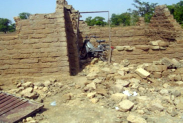 Un vent violent provoque  des dégâts à Guilongou et Donsin