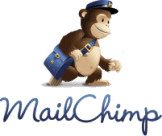 Cute Chimp carrying a mail bag