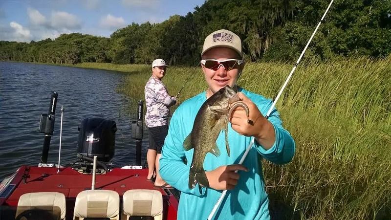 Preparation Bass Fishing Charter