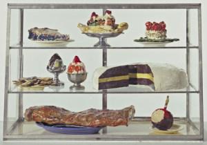 OLDENBURG, CLAES (1929 -) PASTRY CASE, I, 1961-62