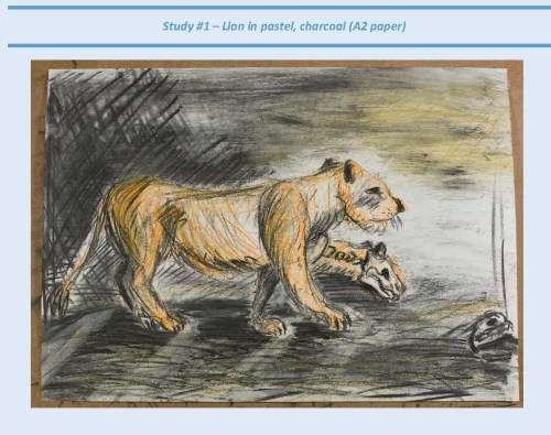 Stefan513593 - project 5 - exercise 4 - lion study #1