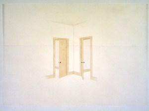 TOBA KHEDOORI (B.1964)  'UNTITLED (Doors), 1999