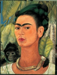 KAHLO,FRIDA_self-portrait with monkey_1938_0
