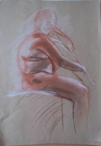 Life Drawing 10/22/2015