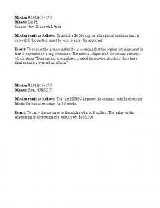RCM Motions 11.18