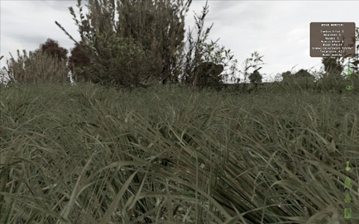 Panic struck as a zombie hops by in DayZ
