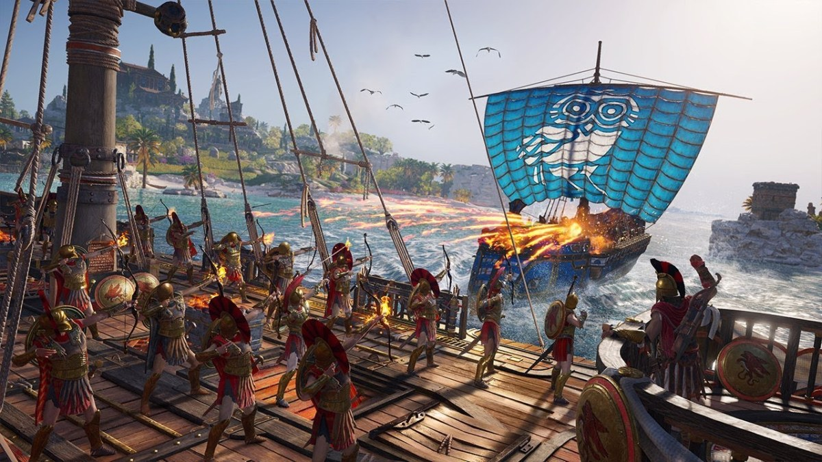 Asssassin's Creed Odyssey   Conheça as mudanças do combate naval ...