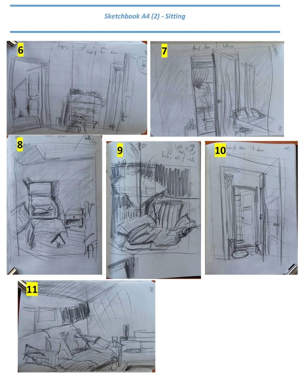 Stefan513503 - Project 4 -Exercise 1 - Quick sketches - sitting