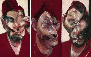 Francis Bacon_Three Studies for a Portrait of Lucian Freud