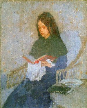 gwen-john_the-precious-book_1910-1926