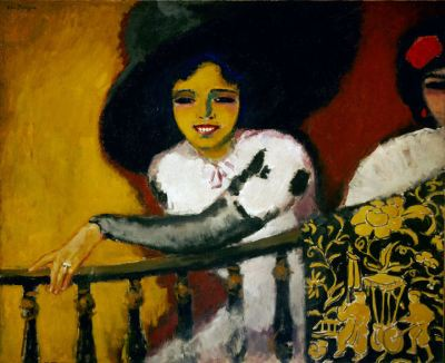 Kees van Dongen 'In the Plaza Women at a Balustrade', 1911