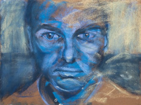 Stefan513593 - daily self-portrait #43: Pastel on PastelCard (40x30cm)