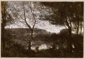 Camille Corot 'Ville Davray', 1870