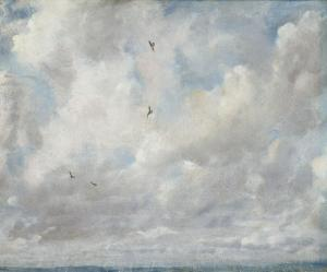 John Constable 'Cloud study', 1821