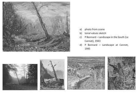 Stefan513593 - Project 4 - Outdoor painting in oil - tonal value comparison