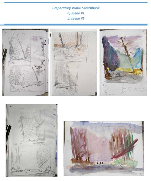 Stefan513593 - Project 4 - Outdoor painting - sketchbook 1