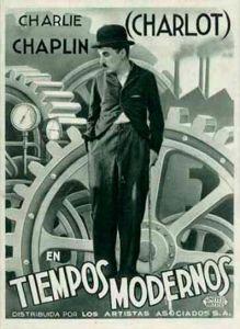 Charlie Chaplin 'Modern Times', 1936