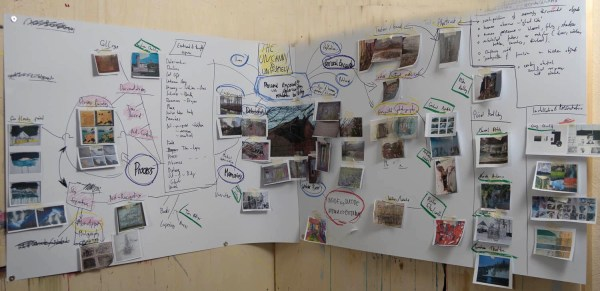 SJSchaffeld - Visual Map - practice-led research for personal project - Painting 1