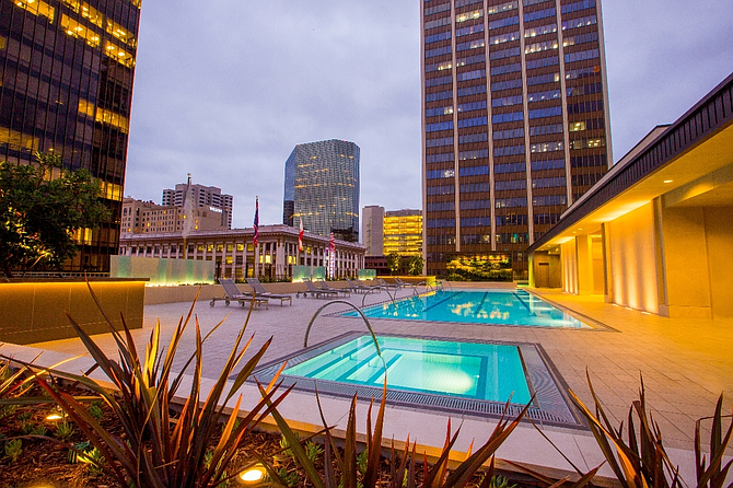 Westgate Hotel Completes Renovation of Rooftop Events Space | San Diego Business Journal