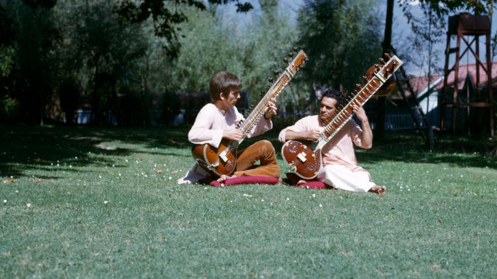 Image result for george harrison living in the material world