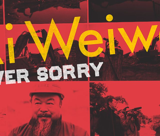 Info Page Ai Weiwei Never Sorry