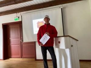 Walter golf seminar