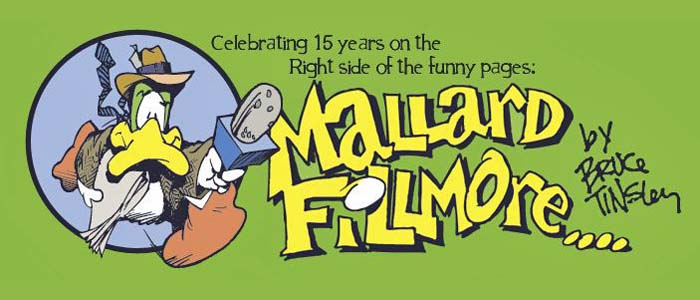 Mallard Fillmore: Not funny, not true