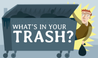 What's in your trash?