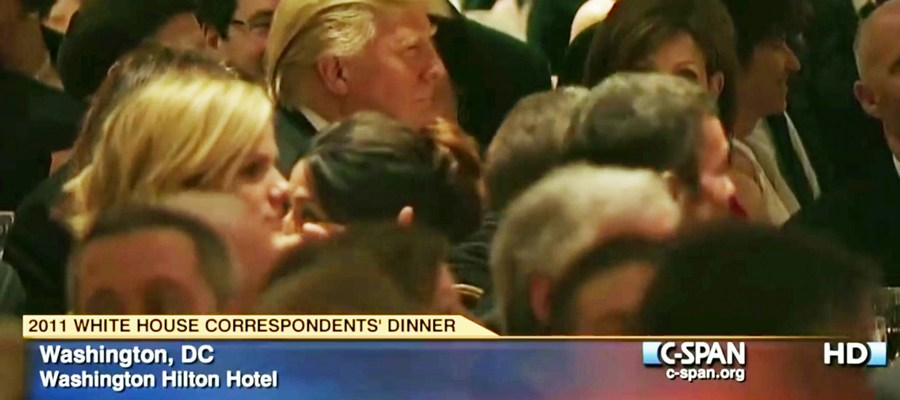 Trump at 2011 WHCD