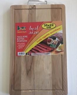 Tagliere extra portata in legno naturale