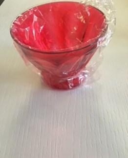 Una coppa macedonia acrilico