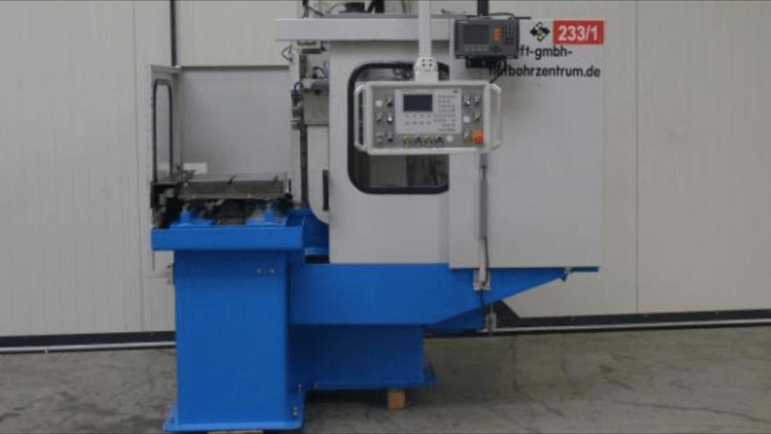Furação Rápida Cnc STF KT 500/ Deep Hole Machine Cnc  STF KT 500