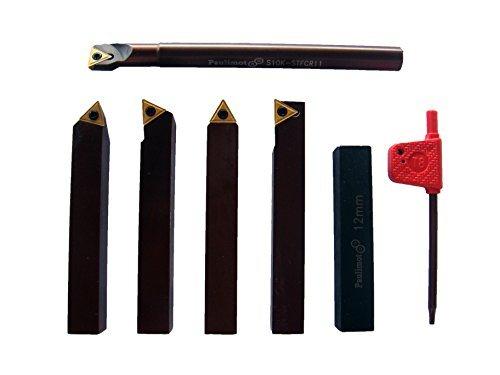 Conjunto de 6 ferros de corte 12mm X 12mm