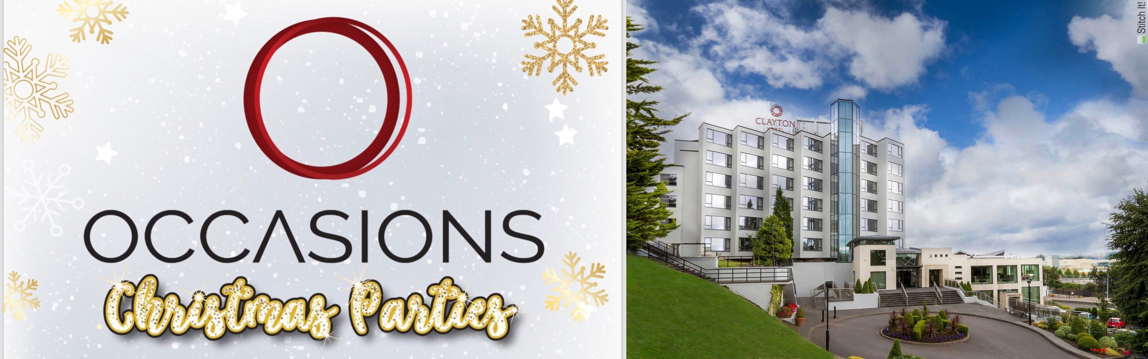 Occasions Christmas Parties - Clayton Hotel Silver Springs