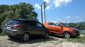 Les Kia Sportage et Hyundai Tucson / ix35