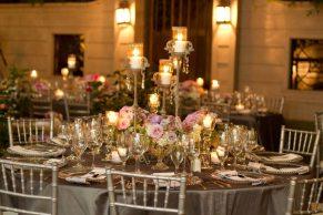 Romantic - table settting
