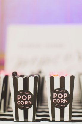 popcorn bar Victoria Secret PINK party houston event planner