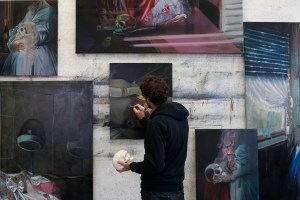 Dans l'atelier d'Olivier Masmonteil