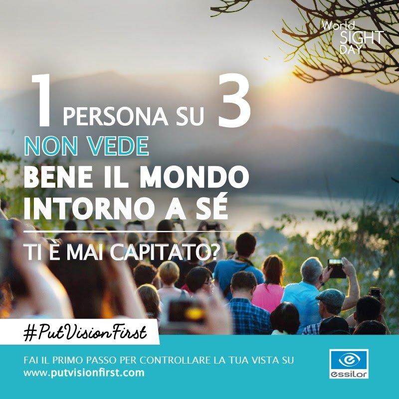 ESSILOR LANCIA LA CAMPAGNA INTERNAZIONALE 1